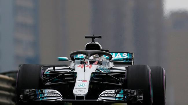 Motor racing - Chinese Grand Prix free practice