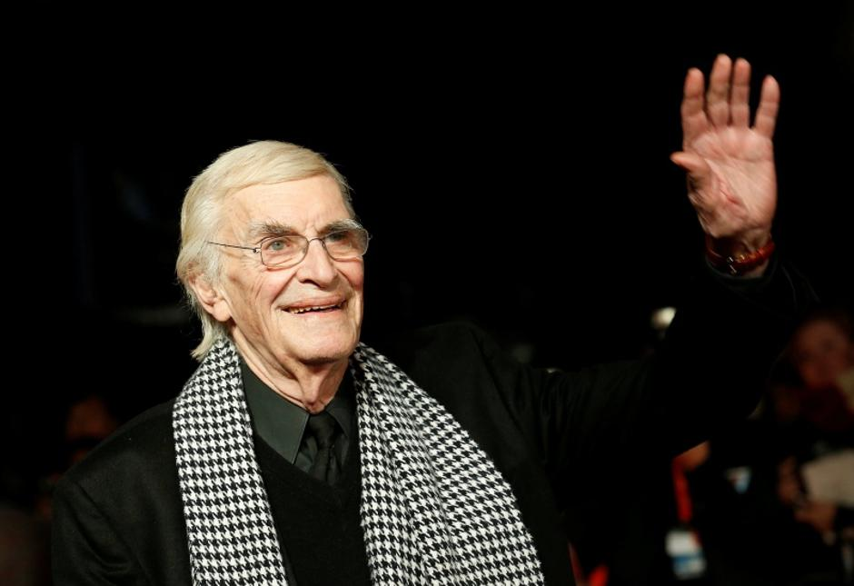 "FILE PHOTO -  Actor Martin Landau arrives for the European premiere of the film ""Frankenweenie"" at the Odeon Leicester Square in central London 