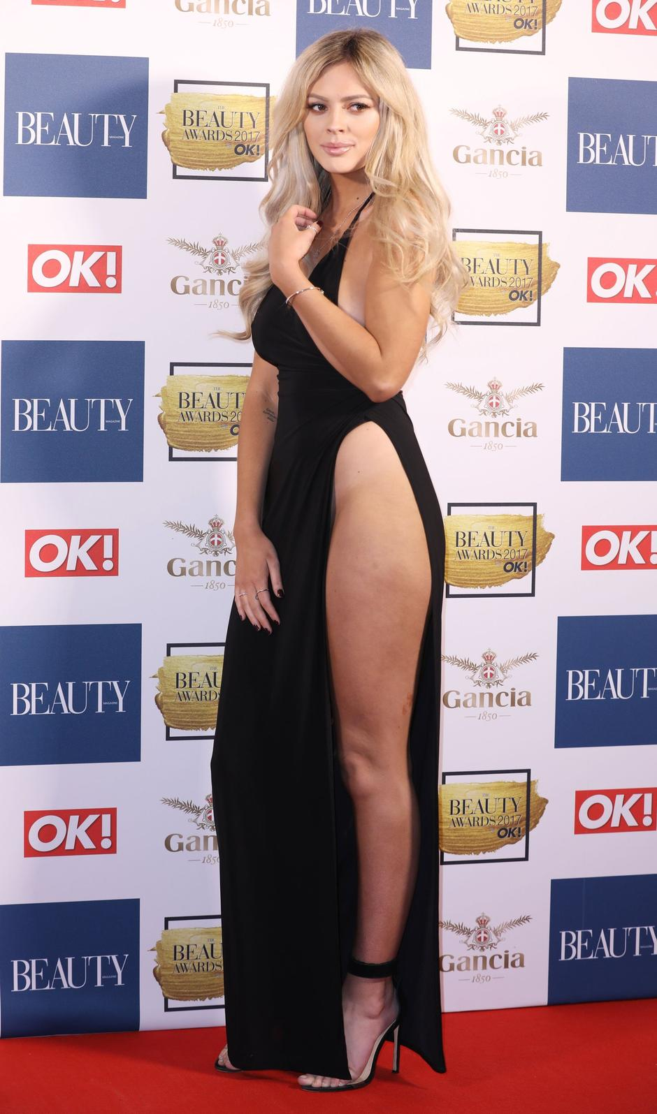 Danielle Sellers  arrives for The Beauty Awards with OK! in  London | Autor: Profimedia
