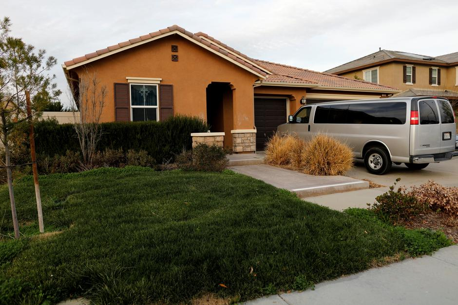 The home of David Allen and Louise Anna Turpin in Perris, California | Autor: MIKE BLAKE