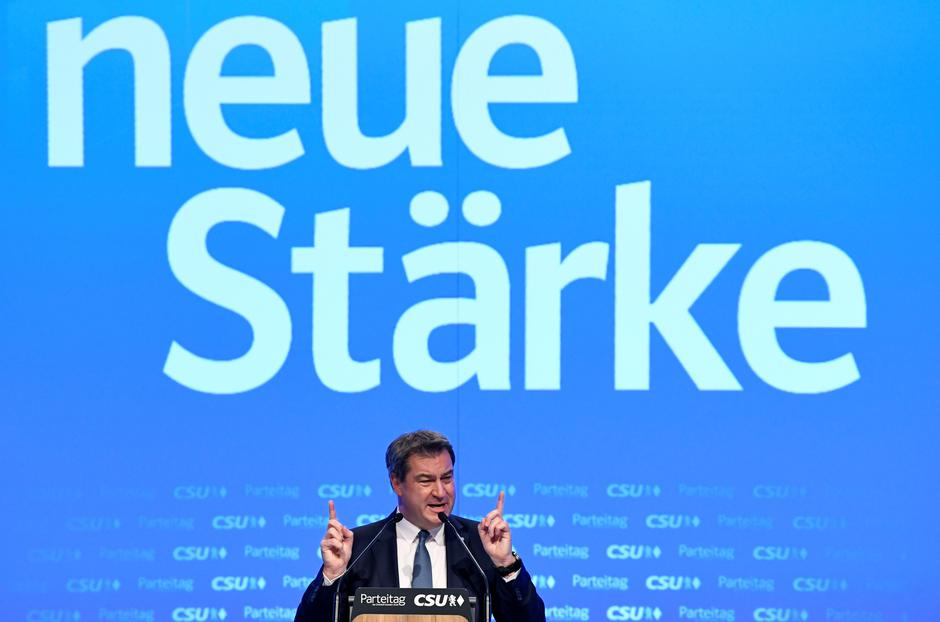 Christian Social Union (CSU) holds party meeting in Munich | Autor: ANDREAS GEBERT