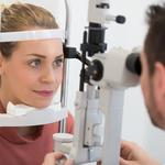 opthalmology and optician concept