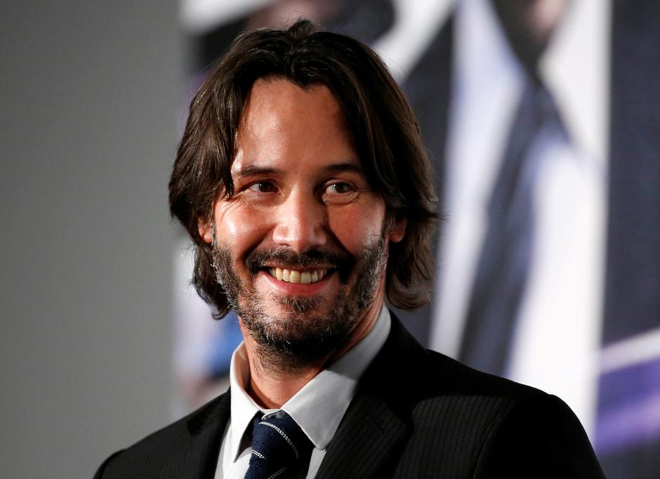"Cast member Keanu Reeves attends a promotional event of movie ""John Wick: Chapter 2"" in Tokyo 