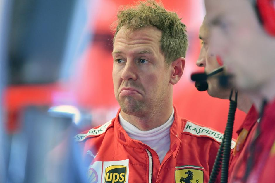 Vettel apparently leaves Ferrari at the end of the year !. | Autor: FrankHoermann/DPA/PIXSELL