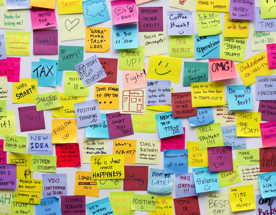 Sticky Note Post It Board Office | Autor: Dreamstime