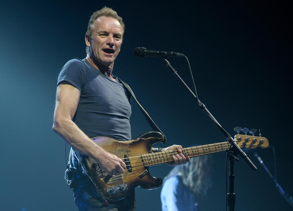 Sting begins '57th & 9th' - Germany tour | Autor: Axel Heimken/DPA/PIXSELL