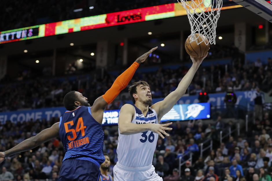 NBA: Minnesota Timberwolves at Oklahoma City Thunder | Autor: Alonzo Adams