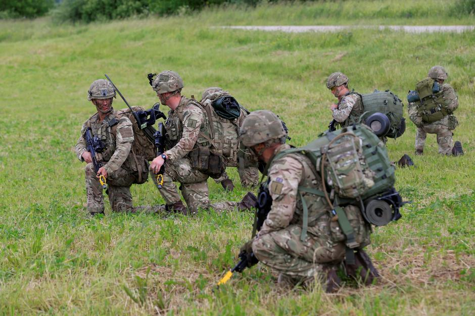 U.S. army soldiers take part in Suwalki gap defence exercise in Mikyciai | Autor: INTS KALNINS