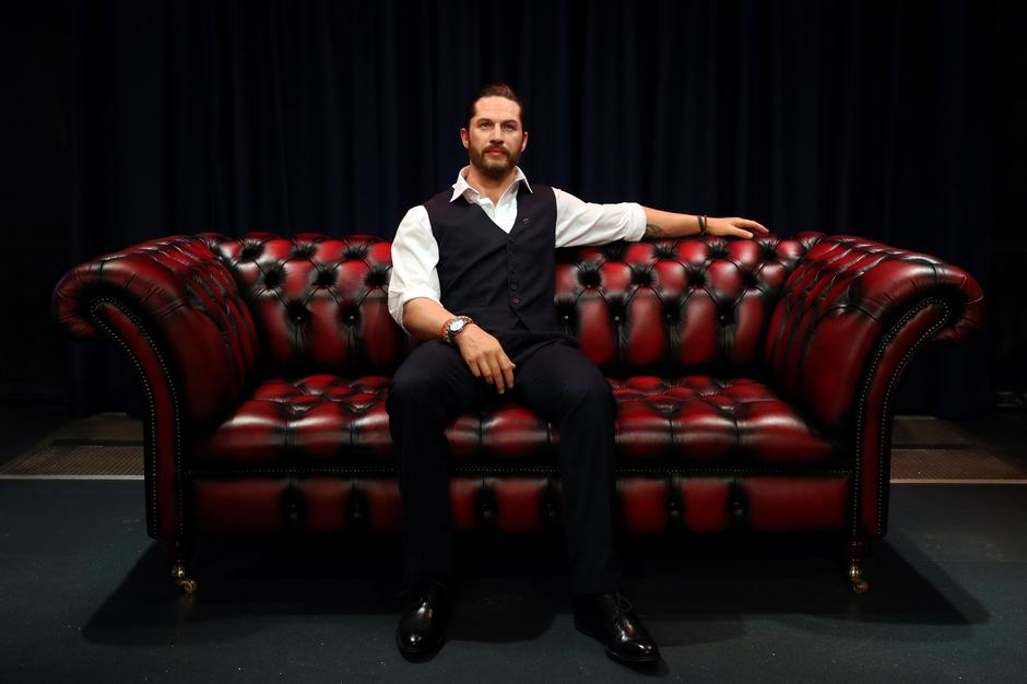 Madame Tussauds' unveils its new wax figure of British actor Tom Hardy which has a soft warm chest and a beating heart, in London | Autor: HANNAH MCKAY/REUTERS/PIXSELL/REUTERS/PIXSELL