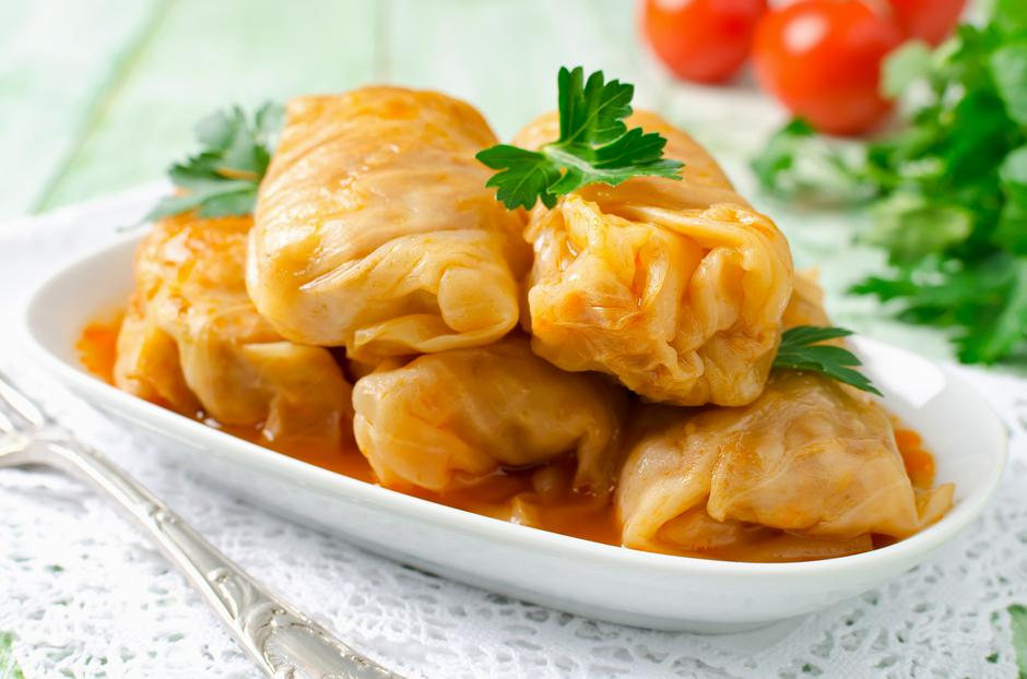 Stuffed cabbage rolls with rice and meat | Autor: Photos by Elena Grigarchuk
