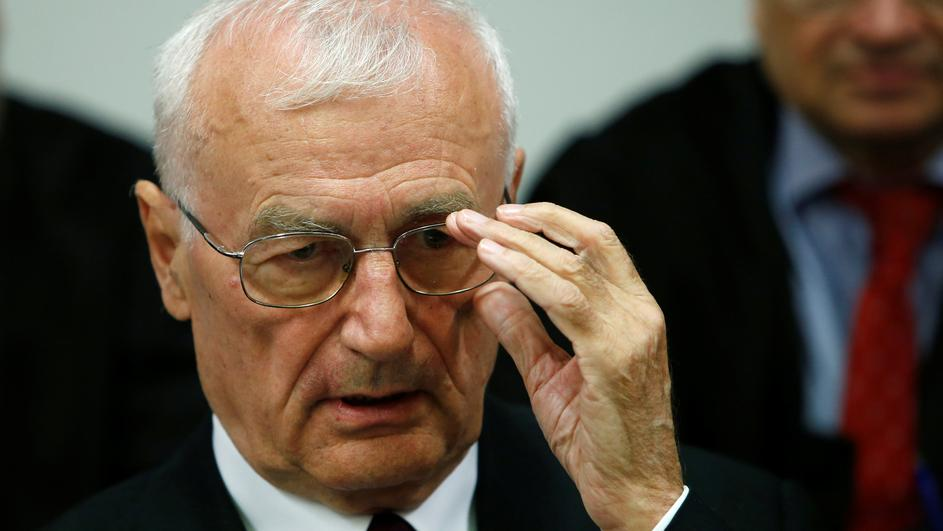 Defendant Perkovic, former member of Yugoslav secret service awaits trial in Munich