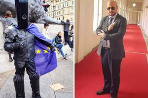 James Maras Bond vs. Lord Buckethead na EU izborima