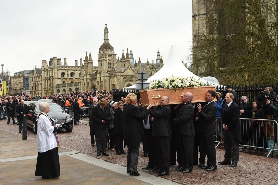 Stephen Hawking funeral | Autor: Joe Giddens/Press Association/PIXSELL