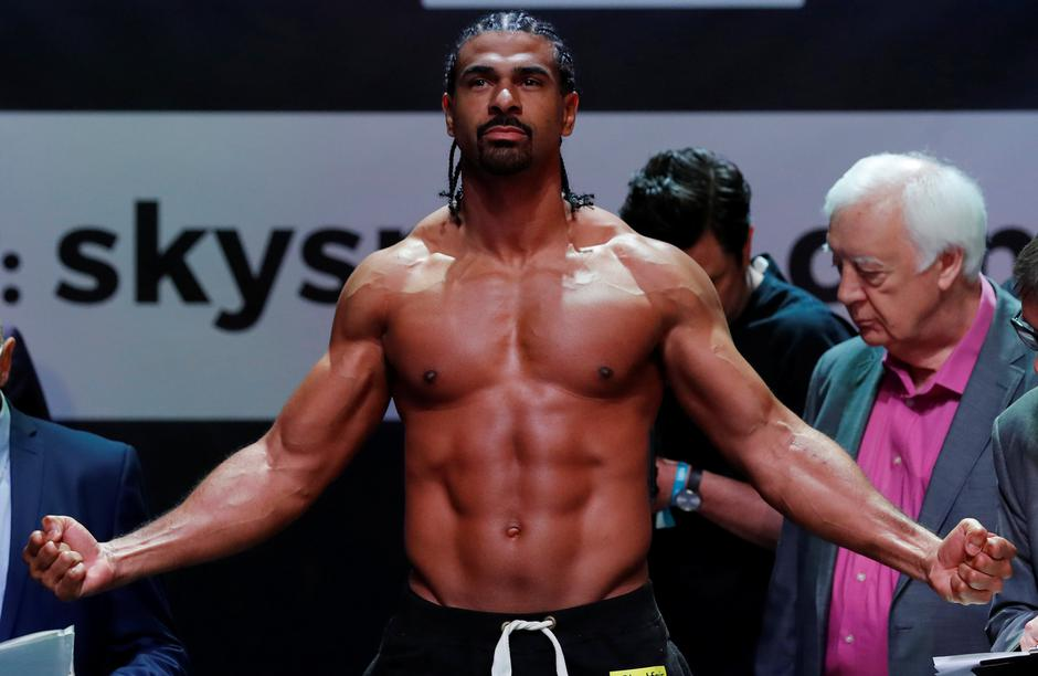 Tony Bellew & David Haye Weigh-In | Autor: ANDREW COULDRIDGE