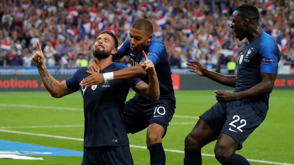 UEFA Nations League - League A - Group 1 - France v Netherlands