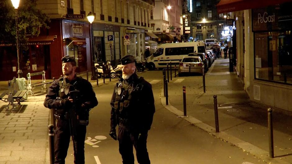 Police guard the scene of a knife attack in Paris | Autor: REUTERS TV/REUTERS/PIXSELL/REUTERS/PIXSELL