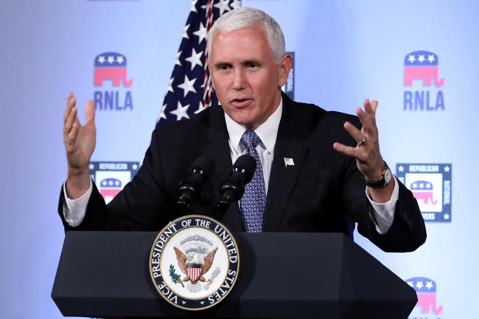 FILE PHOTO: U.S. Vice President Mike Pence delivers a speech in Washington | Autor: Chris Wattie/REUTERS/PIXSELL/REUTERS/PIXSELL