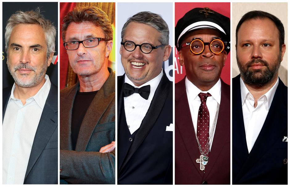 Best director Oscar nominees for the 91st annual Academy Awards (L-R)  Cuaron, Pawlikowski,  McKay, Lee and Lanthimos are seen in a combination of file photos | Autor: STAFF/REUTERS/PIXSELL/REUTERS/PIXSELL