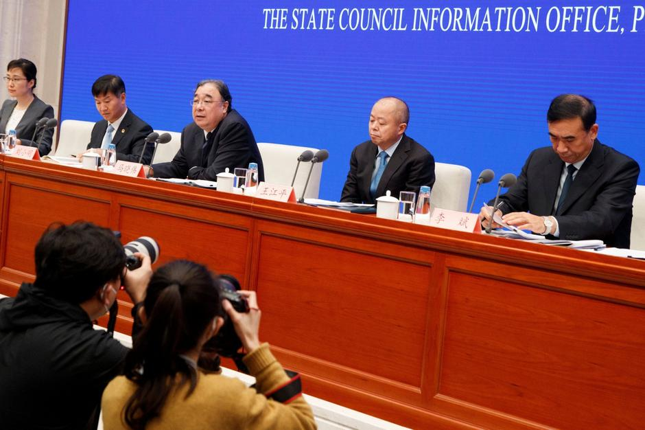News conference on the outbreak of the new coronavirus in Beijing | Autor: Thomas Peter/REUTERS/PIXSELL/REUTERS/PIXSELL