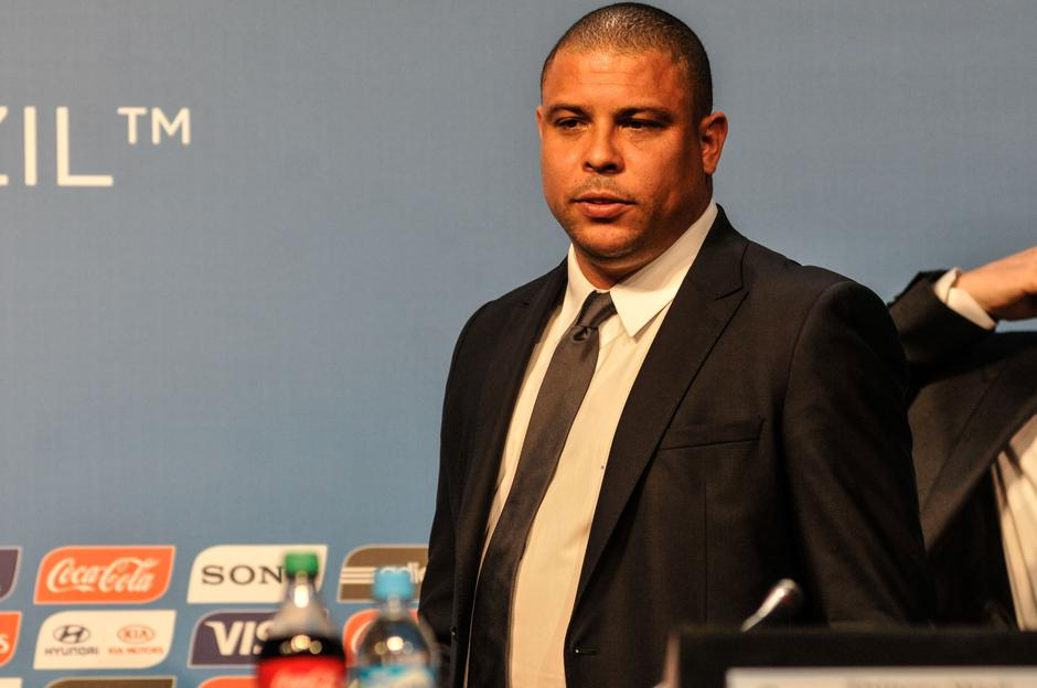 Ronaldo Nazario, former player, during technical meeting for the FIFA World Cup 2014 in Florianopolis | Autor: EDUARDO VALENTE/DPA/PIXSELL