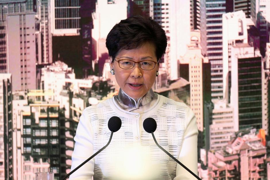 Hong Kong Chief Executive Carrie Lam attends a news conference in Hong Kong | Autor: ATHIT PERAWONGMETHA/REUTERS/PIXSELL/REUTERS/PIXSELL