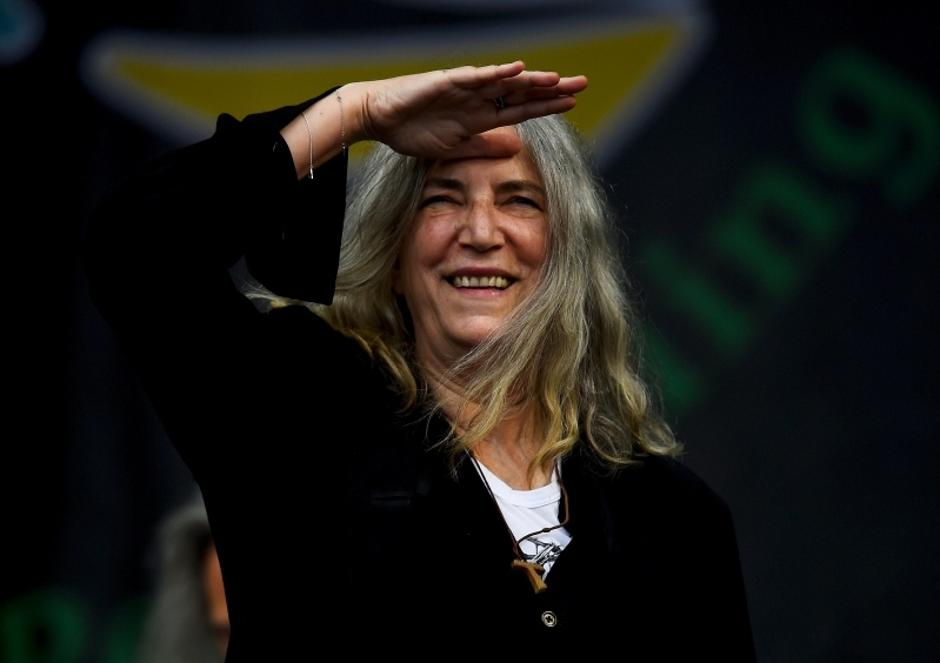Patti Smith performs on the Pyramid stage at Worthy Farm in Somerset during the Glastonbury Festival | Autor: © Dylan Martinez/REUTERS/PIXSELL/REUTERS/PIXSELL