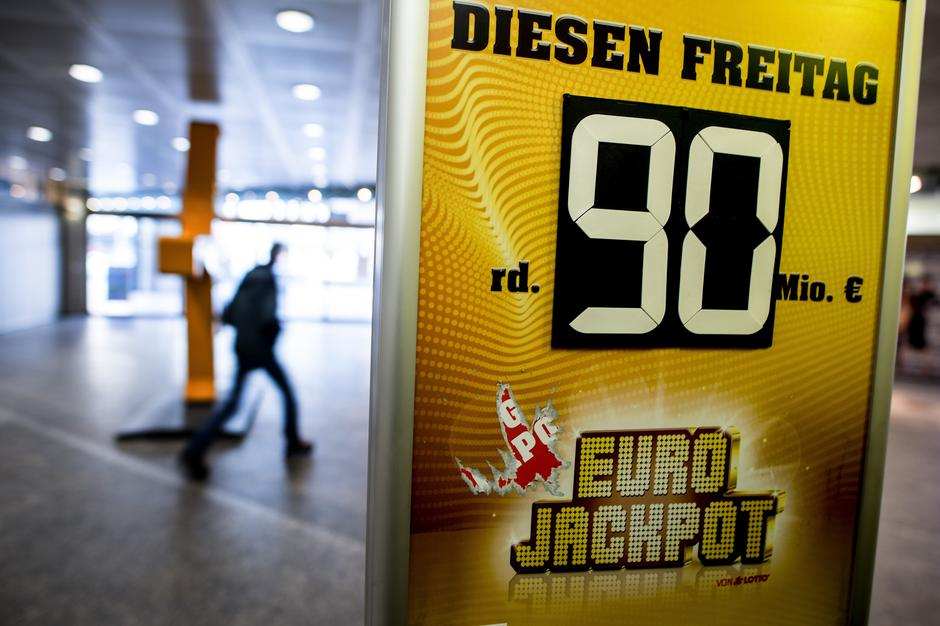 90 million euros in the Eurojackpot | Autor: Federico Gambarini/DPA/PIXSELL