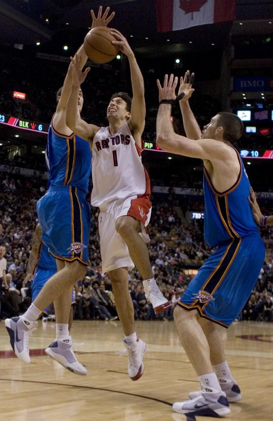 Thunder Raptors Basketball | Autor: CHRIS YOUNG/Press Association/PIXSELL