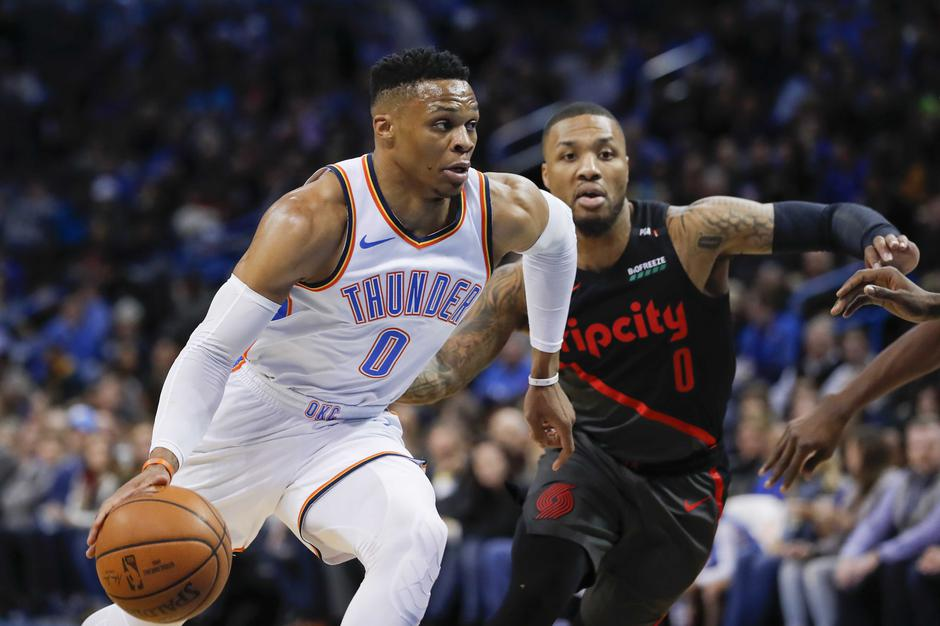 NBA: Portland Trail Blazers at Oklahoma City Thunder | Autor: Alonzo Adams