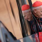FILE PHOTO: U.S. Cardinal McCarrick arrives for a meeting at the Synod Hall in the Vatican
