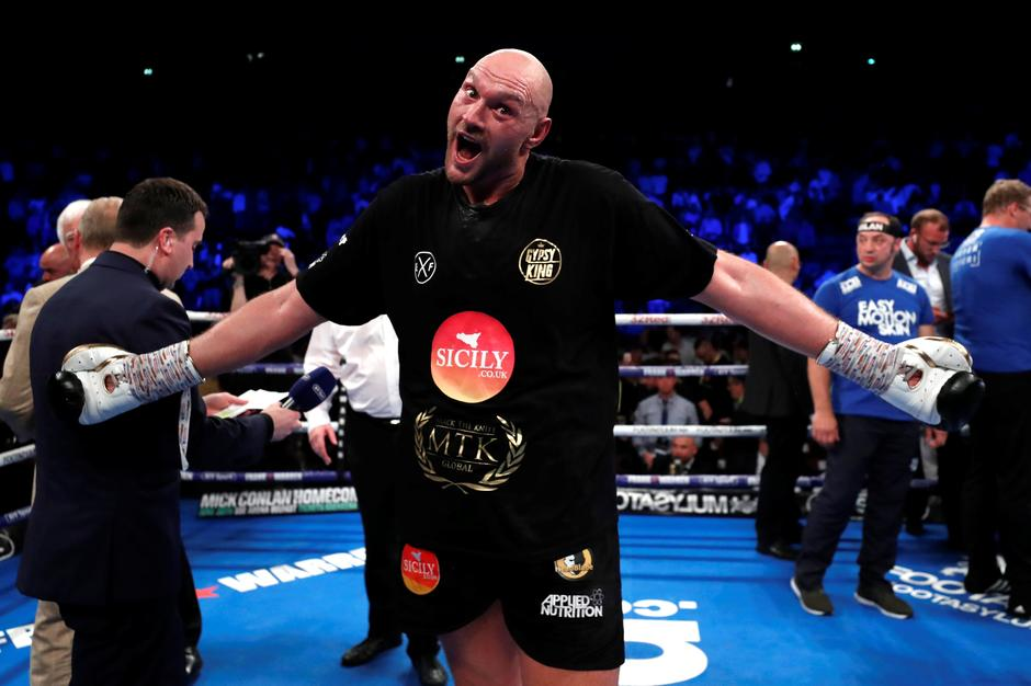 Tyson Fury v Sefer Seferi | Autor: ANDREW COULDRIDGE