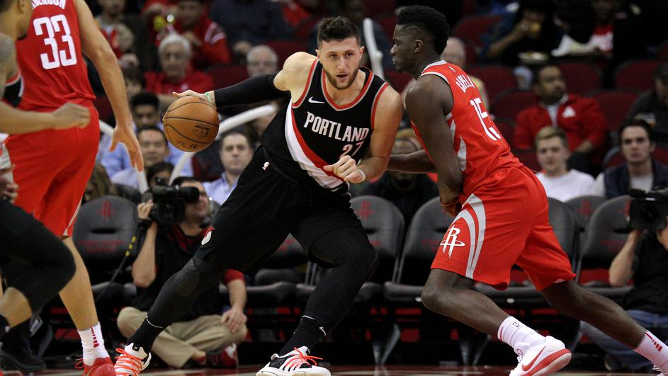 NBA: Portland Trail Blazers at Houston Rockets