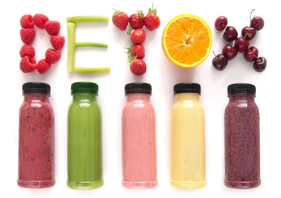 Detox juice smoothies | Autor: