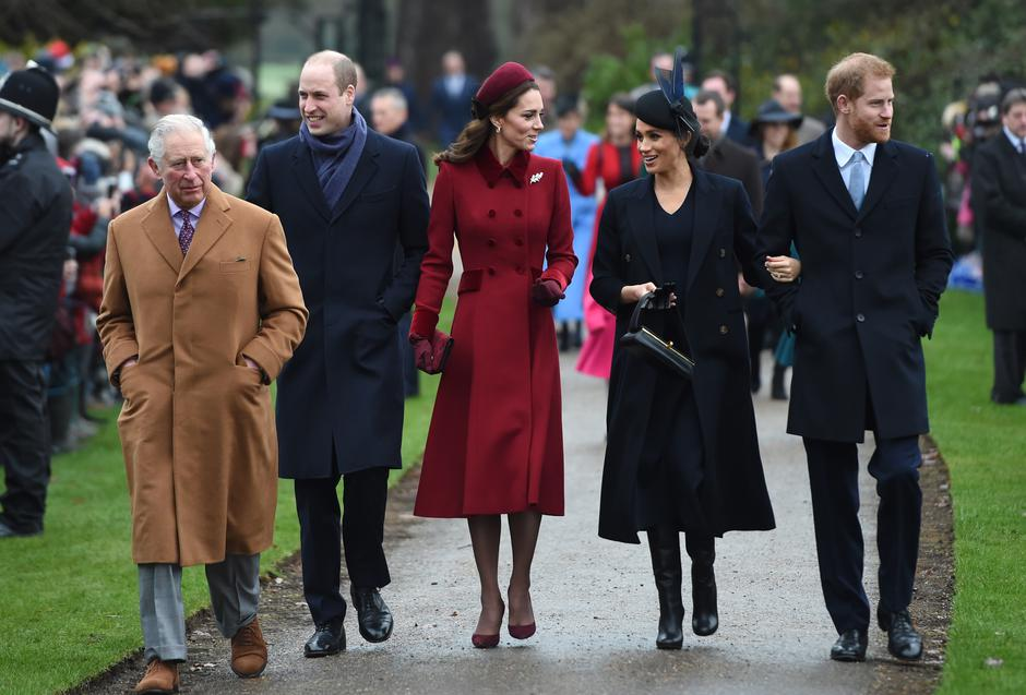 Royals attends Christmas Day Church service | Autor: Joe Giddens/Press Association/PIXSELL