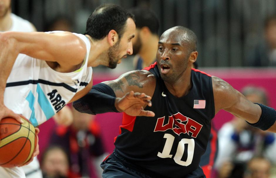 London 2012 - Basketball - Argentinien - USA | Autor: Friso Gentsch/DPA/PIXSELL