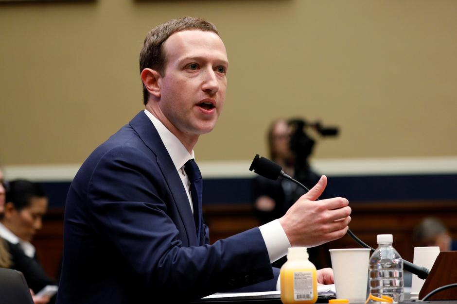 FILE PHOTO: Facebook CEO Zuckerberg testifies before House Energy and Commerce Committee hearing on Capitol Hill in Washington | Autor: AARON BERNSTEIN/REUTERS/PIXSELL/REUTERS/PIXSELL