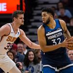 NBA: Phoenix Suns at Minnesota Timberwolves