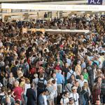 Frankfurt Airport partially cleared due to police action