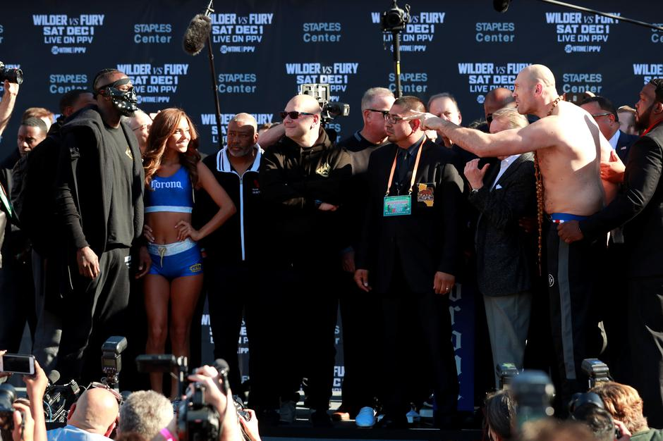 Deontay Wilder & Tyson Fury Weigh-In | Autor: ANDREW COULDRIDGE