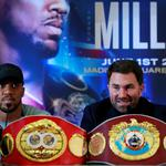 Anthony Joshua & Jarrell Miller Press Conference