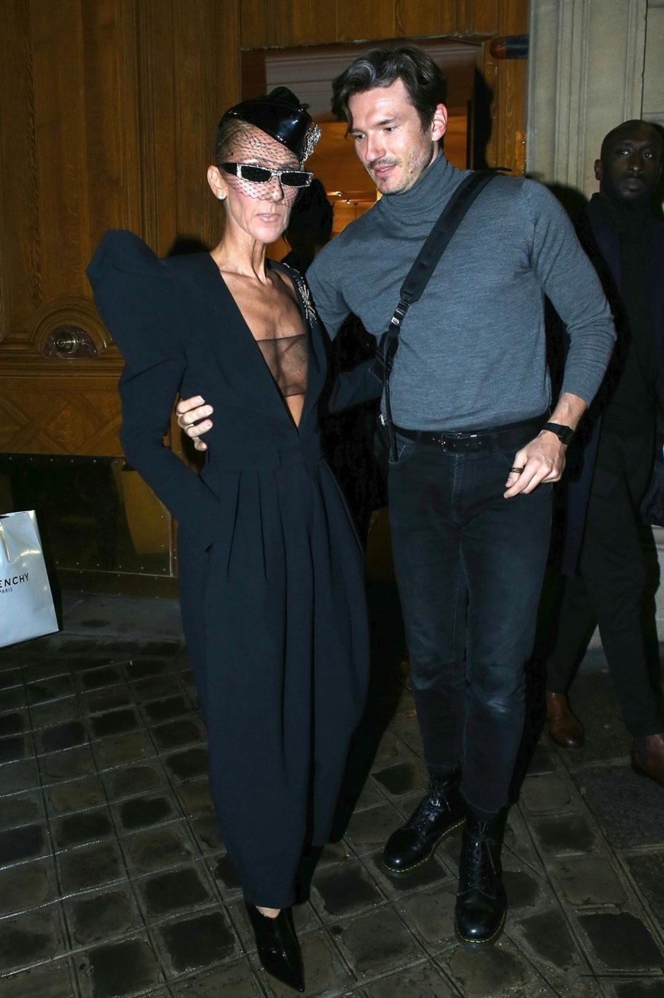 Celine Dion and Pepe Munoz out in Paris | Autor: Profimedia