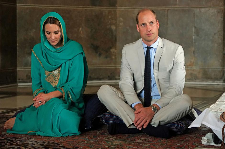 Britain's Prince William and Catherine, Duchess of Cambridge, visit Pakistan | Autor: pool/REUTERS/PIXSELL/REUTERS/PIXSELL