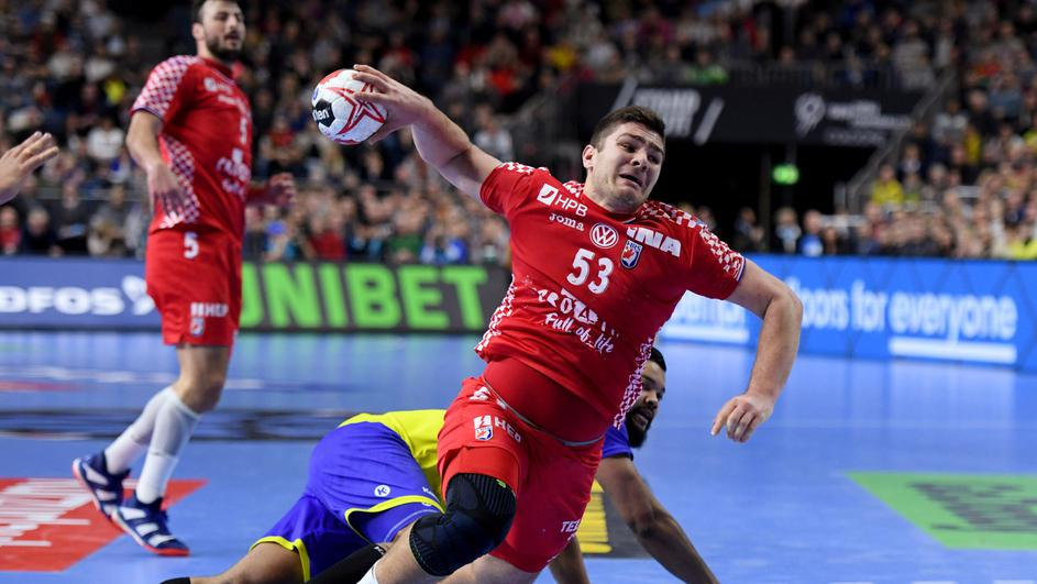 IHF Handball World Championship - Germany & Denmark 2019 - Main Round Group 1 - Brazil v Croatia