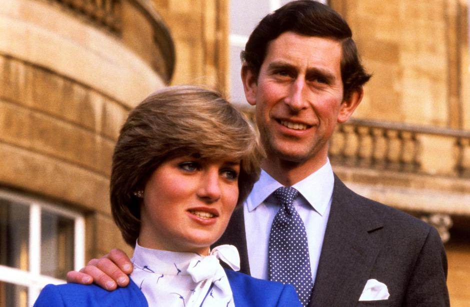 PRINCE CHARLES AND LADY DIANA SPENCER ENGAGEMENT | Autor: BELL   RON BELL