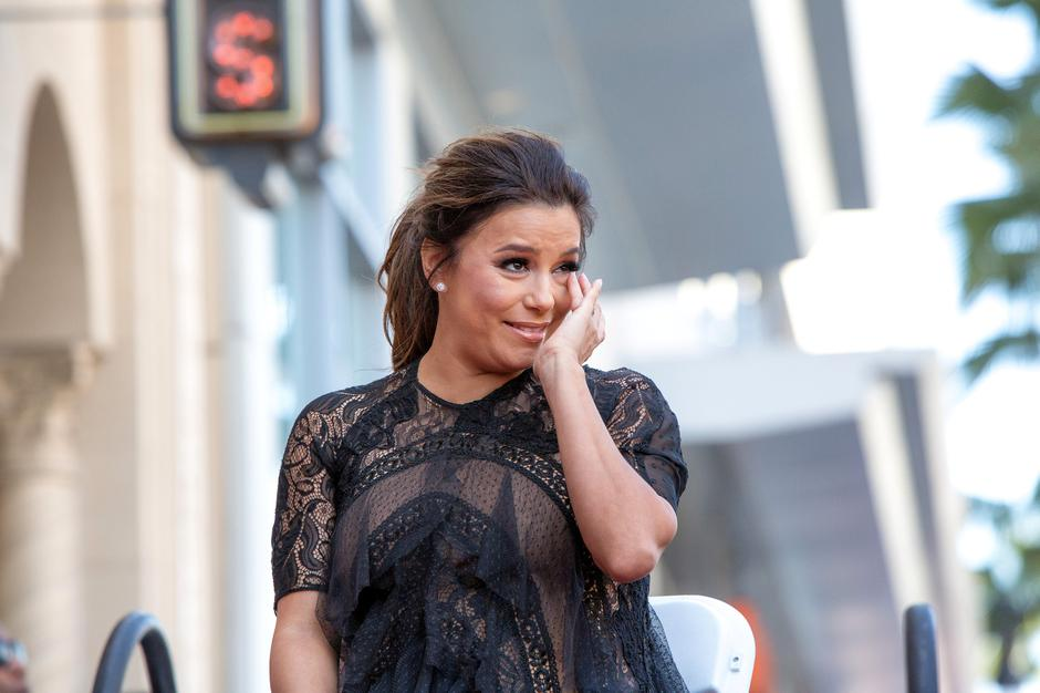 Eva Longoria reacts on the Hollywood Walk of Fame in Los Angeles | Autor: MONICA ALMEIDA/REUTERS/PIXSELL/REUTERS/PIXSELL