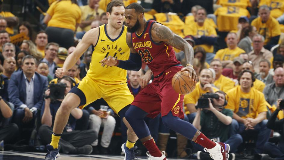 NBA: Playoffs-Cleveland Cavaliers at Indiana Pacers