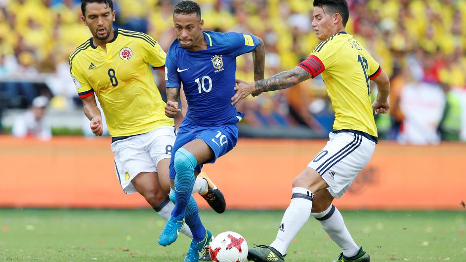 Soccer Football - 2018 World Cup Qualifications - Colombia v Brazil