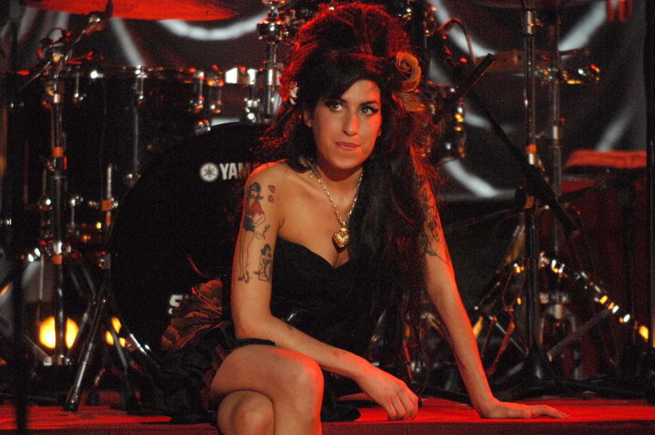 Amy Winehouse Grammy performance, Riverside Studios, London, Britain - 10 Feb 2008 | Autor: Profimedia
