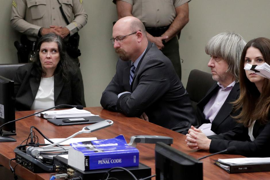 FILE PHOTO: David Turpin and Louise Turpin appear in court for their arraignment in Riverside | Autor: POOL New/REUTERS/PIXSELL/REUTERS/PIXSELL