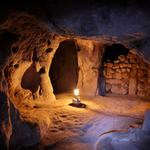 "The underground city of Mazikoy,( or ""Mazi""), Cappadocia, Turkey"